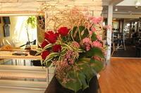エニタイムフィットネスセンター赤羽北店様へ四方見 - 北赤羽花屋ソレイユの日々の花