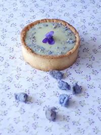 カシスとすみれの香りのタルト - Baking Daily@TM5