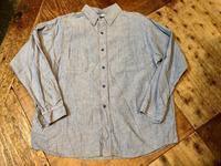 80s〜unknown all cotton ワンウォッシュシャンブレーシャツ! - ショウザンビル mecca BLOG!!