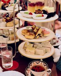 アフタヌーンティー@ロイヤルクリスタルカフェ - お茶をどうぞ♪
