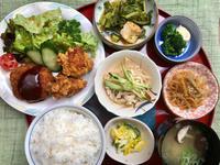 カレーコロッケ&鶏の唐揚げ - 日だまりカフェ