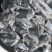 ハーキマー水晶ステンレスペンダントトップ - すぐる石放題