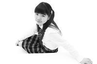 三浦彩楓ちゃん26 - モノクロポートレート写真館