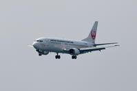 今日のJTA B737-400 ~RWY18へのアプローチ~ - 南の島の飛行機日記