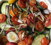 鱈と野菜のオーブン焼き - やせっぽちソプラノのキッチン2