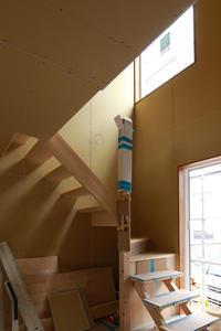 高窓からの光奈良三郷町の家 - 加藤淳一級建築士事務所の日記