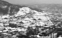 80年代夕張144・末広墓地からの眺め(夕張支線) - 萩原義弘のすかぶら写真日記