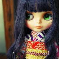 アナちゃんの春着物 - カメラのまばたき