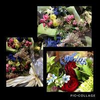 離任式の花束です - Rico 花の教室