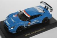 1/64 Kyosho SUPER GT GT500 NISSAN IMPUL CALSONIC GT-R - 1/87 SCHUCO & 1/64 KYOSHO ミニカーコレクション byまさーる