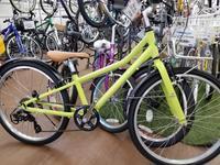 春らしいカラーのアッソンジュニア - 滝川自転車店
