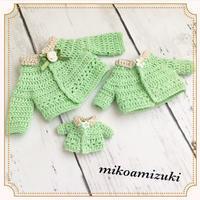 3サイズでお人形のサマーカーディガン - 編み好き@amiami通信