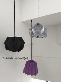 ランプシェード風オブジェ♪ - Lilasbouquet+HOME&F