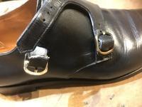 ダブルモンクストラップバックル根革パーツ作成 - Shoe Care & Shoe Order 「FANS.浅草本店」M.Mowbray Shop