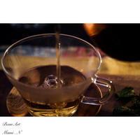 フレーバーティー - BEAN ART Cafe  - Mami . N -
