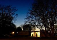 夜のとばり、ひとり歩き - 永楽屋ガーデン    自然を愛する スローライフな庭造り