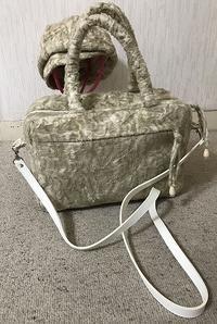 ボックス型のバックにショルダー紐を付けました - アトリエ A.Y. 洋裁教室