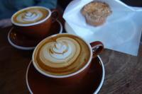 Little Nap COFFEE ROASTERSさんでラテとマフィン - *のんびりLife*