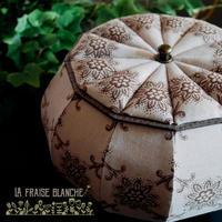 『ボンボニエール』 - カルトナージュ教室 ~ La fraise blanche ~