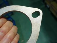 チタン製マフラーフランジ - ステンレスクリーンカットのレーザーテック