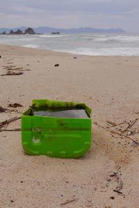 荒れた後の水晶浜! - Beachcomber's Logbook