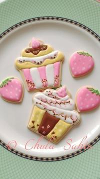 アイシングクッキークラスを行ってきました! - シュガークラフトアーティスト Mihoの気ままなブログ