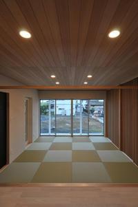 格子壁面のタタミスペース! - 島田博一建築設計室のWEEKLY  PHOTO / 栃木県 建築設計事務所