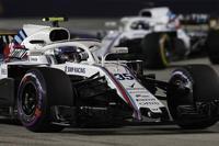 【シンガポールGP 回顧】ウィリアムズ決勝レポート - F1-MGT.com