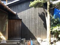 奈良町町家再生計画納屋工事4 - 国産材・県産材でつくる木の住まいの設計 FRONTdesign  設計blog