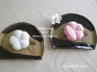 春の和菓子とらやの「御代の春」 - 風と花を紡いで