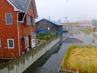 降雪と冲方丁4月10日(水)その2 - しんちゃんの七輪陶芸、12年の日常