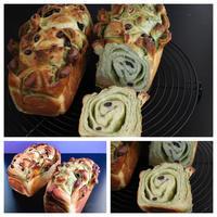 明日から抹茶マーブルブレッドレッスンがはじまります。 - 自家製天然酵母パン教室Espoir3n(エスポワールサンエヌ)料理教室 お菓子教室 さいたま