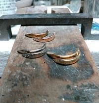 リフォームオーダー2本のリングを3本に[2] - STUDIO  MARIPOSA  あをむし日記