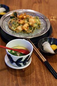 三つ葉たっぷりご飯の日 - KICHI,KITCHEN 2