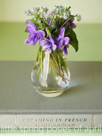春のポージー(花あそび) - serendipity blog