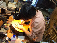 大屋ギターの調整と伊藤賢一さんのギブソンJ-50 1958年。 - 線路マニアでアコースティックなギタリスト竹内いちろ@三重/四日市