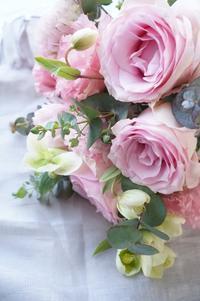 ラブリーな一日♪ - お花に囲まれて