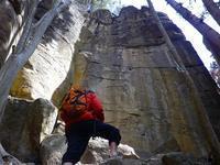 外岩クライミング、シーズンインです~。 - 乗鞍高原カフェ&バー スプリングバンクの日記②