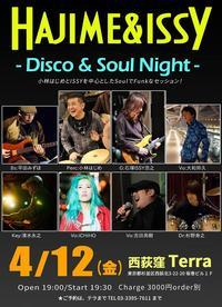Hajime&ISSY Disco&Soul Nightは明日! - 大和邦久 STAFF BLOG