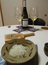 マリアージュを期待したヴァン・ド・サヴォアとラクレットフォンデュ、とイカ。 - のび丸亭の「奥様ごはんですよ」日本ワインと日々の料理
