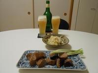 「勝沼人の大地」とマグロ - のび丸亭の「奥様ごはんですよ」日本ワインと日々の料理