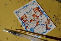 塗り絵を塗り塗り - ku.la stitch