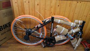ネットショップで購入した自転車の組み立て - 自転車・車いす・除雪機のことならマツダへ!!札幌市清田区清田3条1丁目2-5(羊ヶ丘通り沿い)TEL011-555-2107