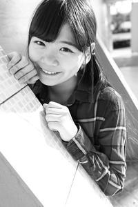 三浦彩楓ちゃん27 - モノクロポートレート写真館
