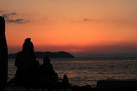 えびす様が眺める風景(2)。 - 青い海と空を追いかけて。
