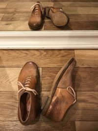 本日 4月21日(日)荒井弘史入店日です - Shoe Care & Shoe Order 「FANS.浅草本店」M.Mowbray Shop