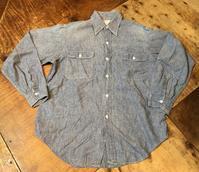 4月13日(土)入荷!70s  all cotton J.C Penny シャンブレーシャツ! - ショウザンビル mecca BLOG!!