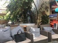 Backyard cafe - ブリアンヌのお散歩日記