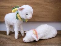 ひつじさん。 - こひつじ的生活~羊毛フェルトで作る小さな世界