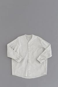 FIRMUM5oz Chambray V-Neck Shirt - un.regard.moderne